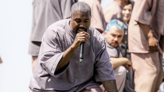 Kanye Premiered A New Song Called 'Water' During His Coachella Sunday Service Performance
