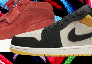 SNX: The Five Best Shoe Drops The First Week Of April, Including Where To Get The New Jordan 1