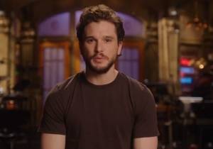 Kit Harington Is Clearly Avoiding All 'Game Of Thrones' Spoilers In His First 'SNL' Promo