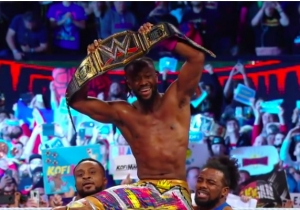 Kofi Kingston Is The New WWE Champion, Yes He Is