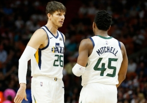 Kyle Korver Praised Donovan Mitchell For Being Unlike Any Young Player He's Ever Seen