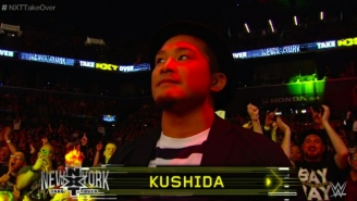 Recent WWE Signee KUSHIDA Showed Up At NXT TakeOver: New York