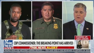 A Fox News Contributor Wearing An Amusingly Tiny Tactical Vest At The Southern Border Quickly Became A Meme