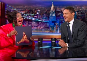 Watch Lizzo Wow Trevor Noah With Her Unexpectedly Pitch-Perfect Eminem Impression