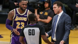 LeBron James Believed Luke Walton 'Played The Hand As Well As He Could' This Season