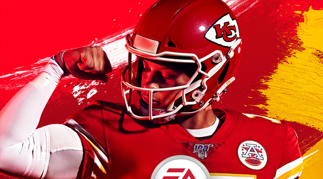 Kansas City Chiefs Qb Pat Mahomes Is The Madden 20 Cover