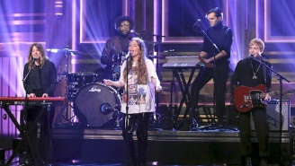 Maggie Rogers Performed 'Say It' With Questlove, Who Was Her Professor At NYU