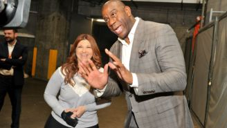 Lakers Owner Jeanie Buss Addressed Magic Johnson's Abrupt Departure On Twitter