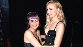 Sophie Turner Wants To Make A Movie About Her Friendship With Maisie Williams
