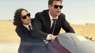 The New 'Men In Black International' Trailer Revives Tessa Thompson And Chris Hemsworth's Comedic Chemistry