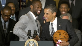 Barack Obama Congratulated Dwyane Wade On An 'Extraordinary Career'