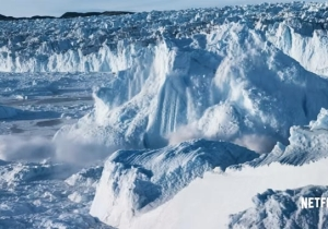 In A Stunning New Teaser, Netflix's 'Our Planet' Exposes The Devastating Collapse Of A Glacier