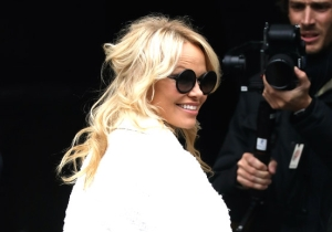 Pamela Anderson Launched Into A Foul-Mouthed Twitter Rant Following Julian Assange's Arrest