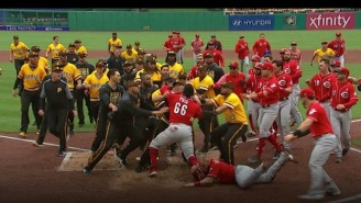 The Reds And Pirates Brawled After A Killer Home Run Stare Down