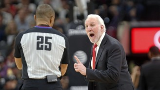 Gregg Popovich Got Ejected One Minute Into The Game In Denver
