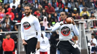 Colin Kaepernick And Gucci Mane Showed Out At Quavo's 2nd Annual Huncho Day Celebrity Football Game