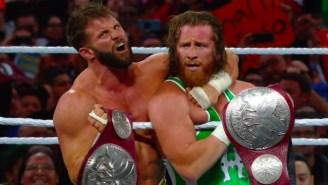 Watch Curt Hawkins Break His Losing Streak At WrestleMania 35