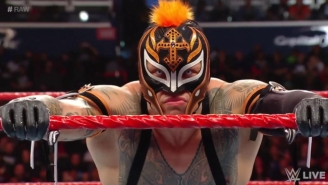 Rey Mysterio Was Injured On Raw, Leading To A Match Cancellation