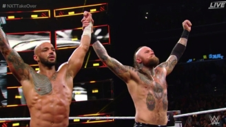Ricochet And Aleister Black Got A Fond Farewell At NXT TakeOver: New York