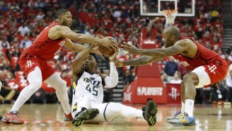 The Rockets Outlast The Jazz In A Game 5 Rock Fight To Win The Series