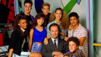Most Of The 'Saved By The Bell' Cast Got Together For A Mini-Reunion