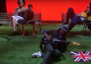 Blood Orange Debuted Two New Songs, 'Something To Do' And 'Dark Handsome,' On 'Corden'