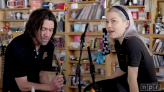 Better Oblivion Community Center Performed A Warm, Intimate Set At NPR's Tiny Desk