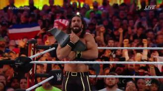 Seth Rollins Slayed The Beast In The Surprise Opening Of WrestleMania 35