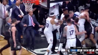 A Melee During Nets-Sixers Led To Jimmy Butler And Jared Dudley Getting Ejected