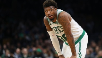 Marcus Smart Reportedly Suffered A Strained Oblique Against The Magic
