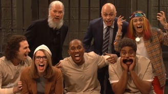The 'SNL' Cold Open Finds Lori Loughlin, Julian Assange And Michael Avenatti Hanging In Prison