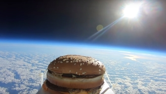 A Big Mac Fell From Space Onto An English Soccer Team's Training Grounds