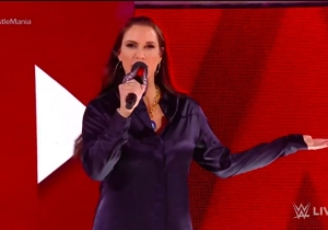 Stephanie McMahon Opened WWE Raw With An Addition To The WrestleMania 35 Main Event