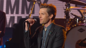 Watch The Killers Channel Their Inner Folkies With A Cover Of James Taylor's 'Carolina In My Mind'