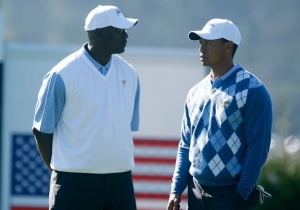 Michael Jordan Offered Thoughts On Tiger Woods' 'Unbelievable' Masters Win