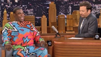 Tracy Morgan Roasted Jussie Smollett During A Candid 'Tonight Show' Appearance