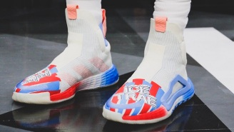 Trae Young Broke Out Some ICEE Inspired 'Ice Trae' Shoes