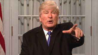 Alec Baldwin Claims He's 'So Done' Impersonating Donald Trump On 'SNL'