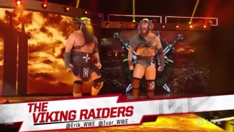 WWE May Have Just Changed War Raiders' Tag Team Name For The Third Time In Nine Days