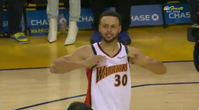 The Warriors Wore 'We Believe' Jerseys For Their Final Game At Oracle