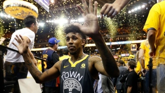 The Warriors Received A Delay Of Game Warning Because Nick Young's Ring Ceremony Took Too Long