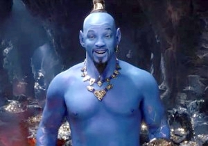 Weekend Box Office: Will Smith's Blue Genie Crushes Evil Superman