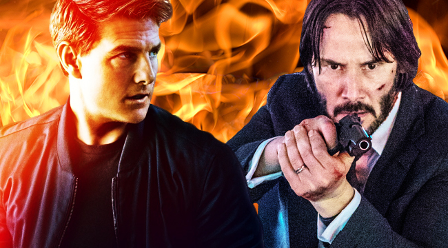 Who Is The Better Action Movie Star: Keanu Reeves Or Tom ...