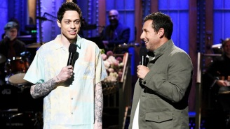 Adam Sandler Is Pete Davidson's Long-Lost Father In This Cut For Time 'SNL' Sketch