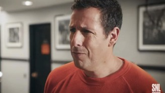 Adam Sandler Gets Super Creepy Vibes Returning To His Old 'SNL' Stomping Grounds