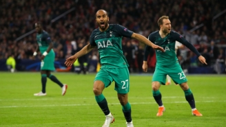 Lucas Moura's Hat Trick Led Tottenham Past Ajax In An Unbelievable Champions League Semifinal