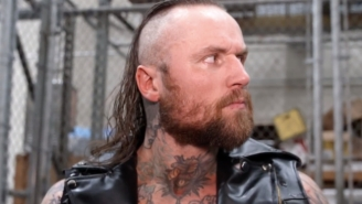 Aleister Black Won't Be Going To Saudi Arabia, Reportedly For Tattoo-Related Reasons