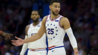 There's Already A Rumor About The Lakers Trading LeBron James For Ben Simmons