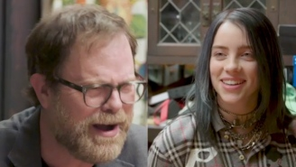 Rainn Wilson Quizzed Billie Eilish About 'The Office' Trivia And She Nailed It