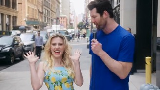 Billy Eichner Passed Kate McKinnon Off As Reese Witherspoon To A Gaggle Of Unwitting New Yorkers
